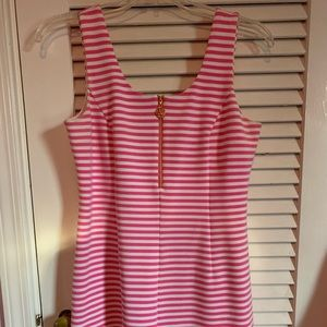 PINK AND WHITE LILLY PULITZER DRESS